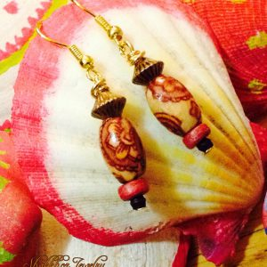 Wooden Earrings.
