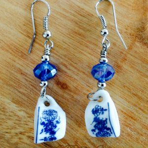 Ceramic willow earrings