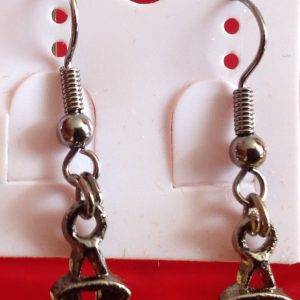Bronze Earrings.